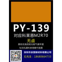 颜料黄139黄对应科莱恩M2R和M3R系列