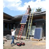 家用太阳能发电2kw--10kw+并网太阳能发电+光伏发电站