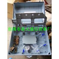 供应2015电信款1分32室外防水壁挂式ABS光分路器箱