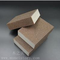 厂家直销双面海棉砂块清洁海绵擦