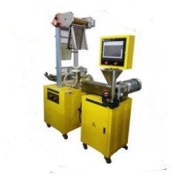 厚天 塑料吹膜机 实验型吹膜机 小型吹膜机价格电话详询