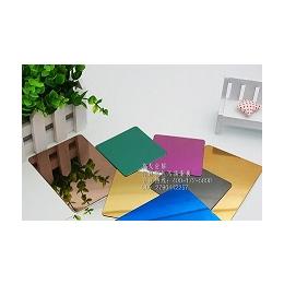 莫戈金属专业定制彩色不锈钢板 彩色不锈钢制品