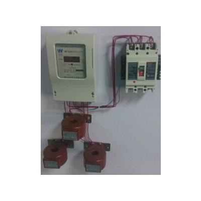 供应互感器预付费电能表三相插卡电表