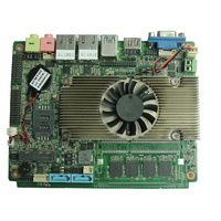 BM77 酷睿I3集成4G内存低功耗可做无扇工控主板
