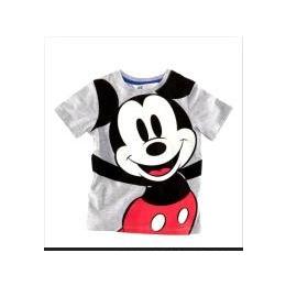 【童装批发】2013夏季新款 可爱米老鼠男童t恤 2色任选图片