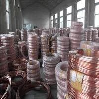 上海飞轮铜管 T2紫铜管 空调铜管 制冷性能好 紫铜盘圆管
