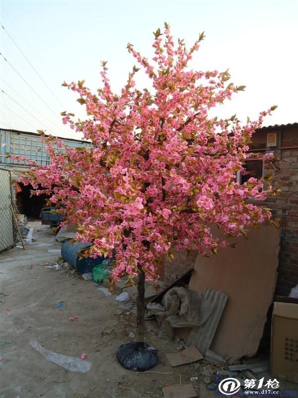 供应北京假桃树批发 北京仿真桃树定做 北京许愿树价格