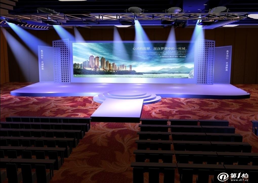 镜框式舞台是指观众位于舞台的一侧