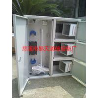 厂家供应96芯144芯冷轧板三网合一光纤网络箱  价格优惠
