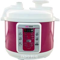 ZKD中科电压力锅专业品牌89HT紫色5L电脑8.5斤高压锅