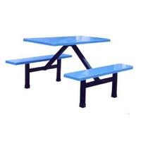 厂家直销2016玻璃钢餐桌椅学校食堂餐桌椅