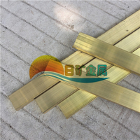 H65黄铜排 优质黄铜排 黄铜排价格 黄铜方排加工 黄铜条