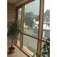 铝包木窗 节能环保铝包木窗