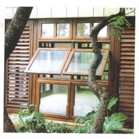 铝包木外开窗  铝木复合门窗 缩略图