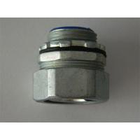 供应锌合金材质端式接头  蛇形管接头  管螺纹接头