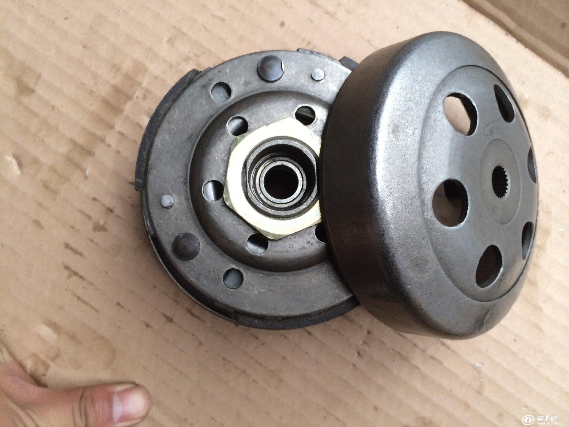 厂家直销 踏板车 豪迈gy6 50 后皮带轮丛轮轮 离合器 甩块 带盖
