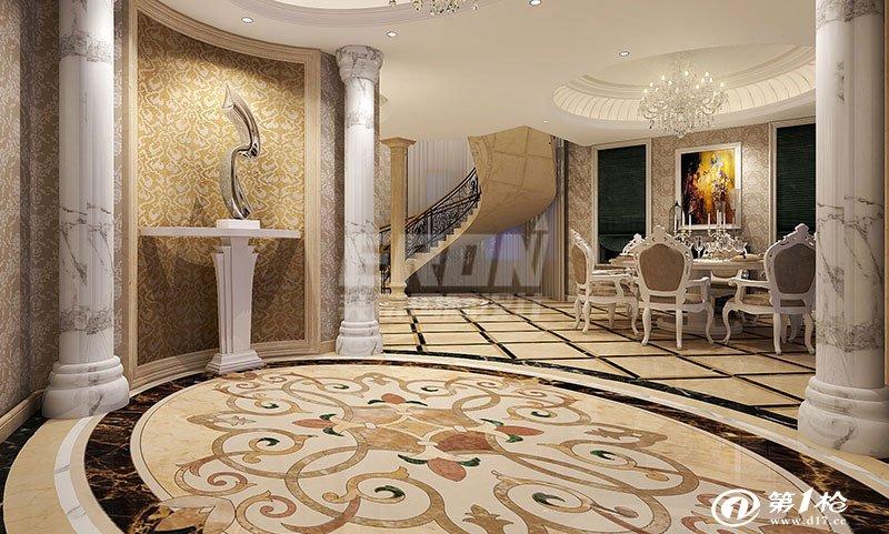 上海奕榮別墅裝潢設計