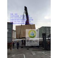 深圳中合包装 东莞长安大型重型设备机器仪器木箱吊运搬运