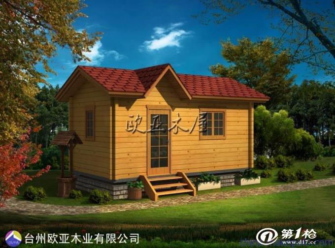 木屋设计户外防腐环保预制厂家直销定做台州木结构房屋欧美风别墅