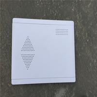 供应光纤入户信息箱塑料面板 多媒体塑料盖板 纯白ABS材质