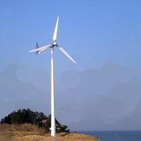 5KW三相交流永磁风力发电机 做工精良 散热快 性价比高