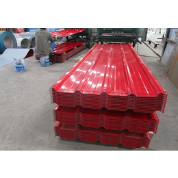 彩钢瓦彩色压型瓦 彩钢钢构彩钢板生产销售