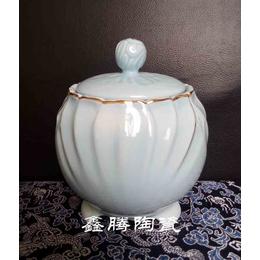 供应陶瓷蜜蜂罐 厂家批量定做陶瓷罐