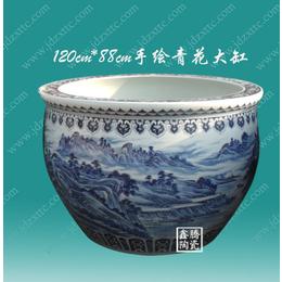 供应手绘陶瓷大缸 景德镇陶瓷大缸批发 厂家直销陶瓷大缸
