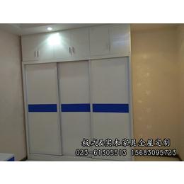 重庆明伟家具厂专业定制密度板衣柜