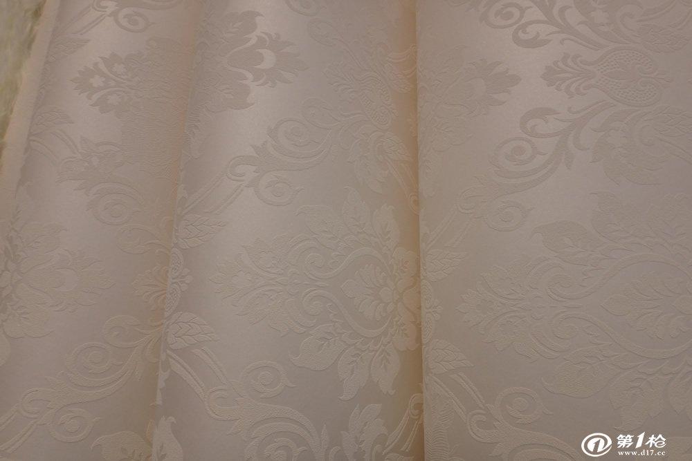 欧式素雅经典风格大马士革无纺布墙纸客厅卧室自然更