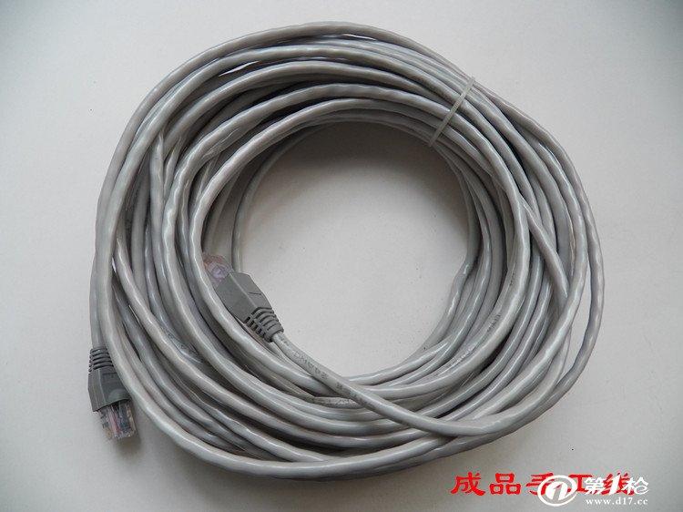 超5类非屏蔽8芯网络连接线