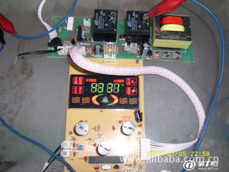 促销led数码屏触摸恒温即热式电热水器电路板