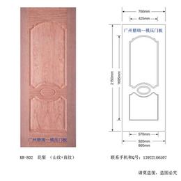 木门模压门板 贴木皮模压门板