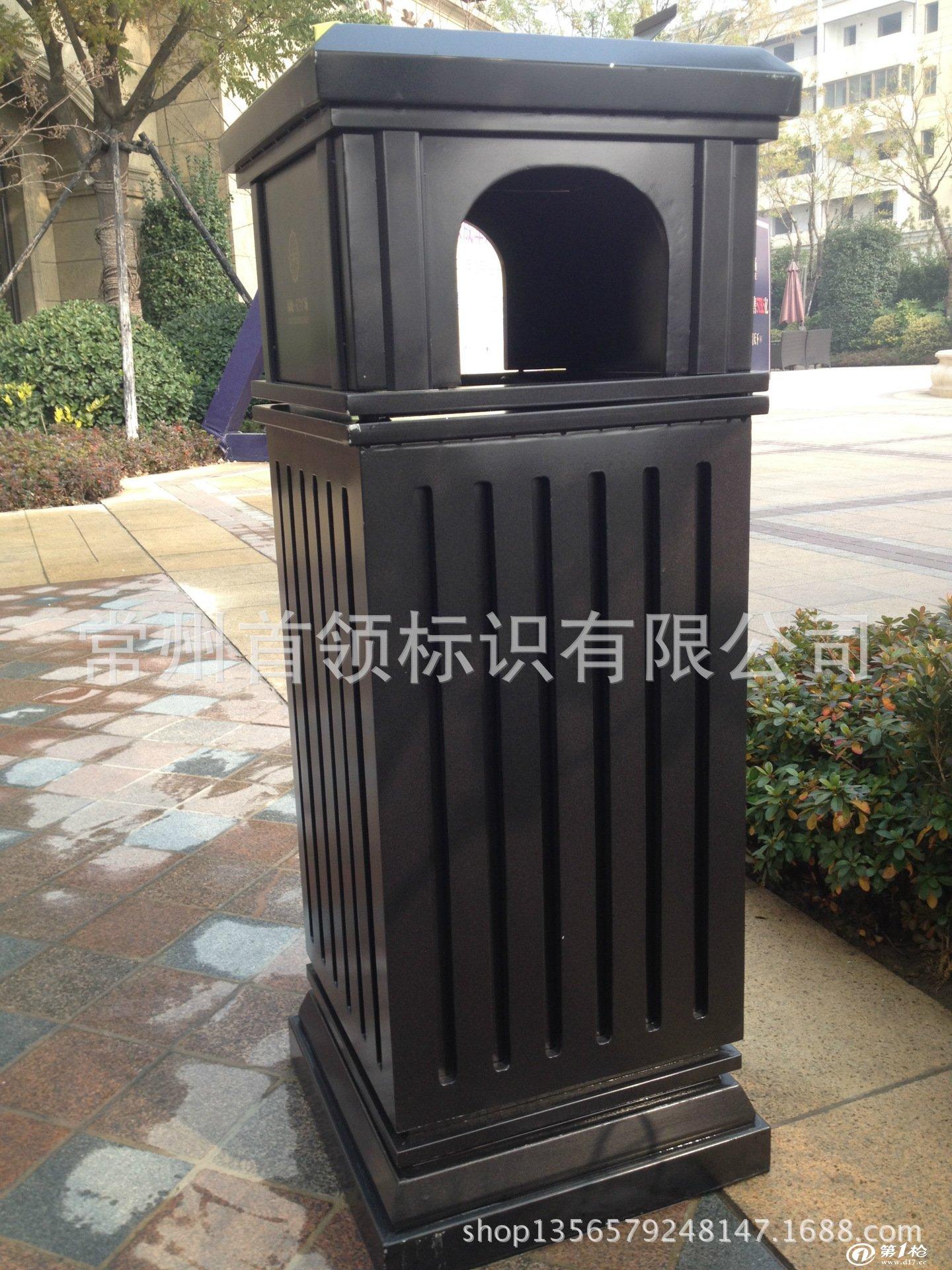 生产定制不锈钢垃圾桶 户外垃圾桶 小区垃圾桶 果皮箱