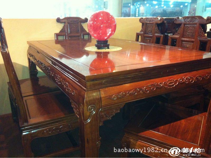 【厂家供货】中式红木餐桌家具