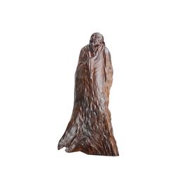古沉木雕刻艺术品JXLYQ00026  杜甫