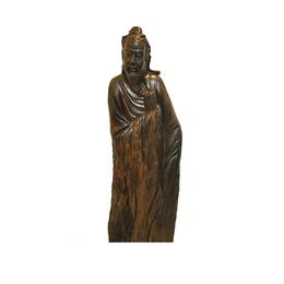 古沉木雕刻艺术JXLYQ00102 王羲之