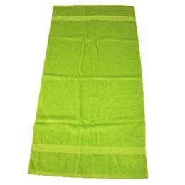胶州生产厂家外贸纯棉星纹断档横条加厚可定制素色浴巾