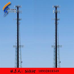 大量单管通信塔供应厂家