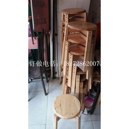 制衣厂鞋厂工人凳子椅子桌椅板凳出租实木方凳圆凳批发订直销