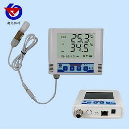 建大仁科POE供电以太网温湿度记录仪