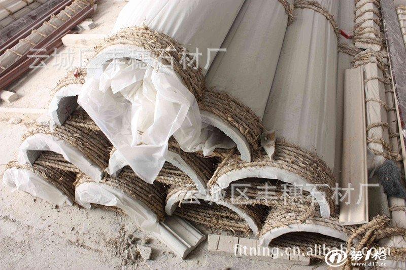 建材与装饰材料 石材 天然大理石 云浮石材 花岗岩罗马柱 大理石圆柱