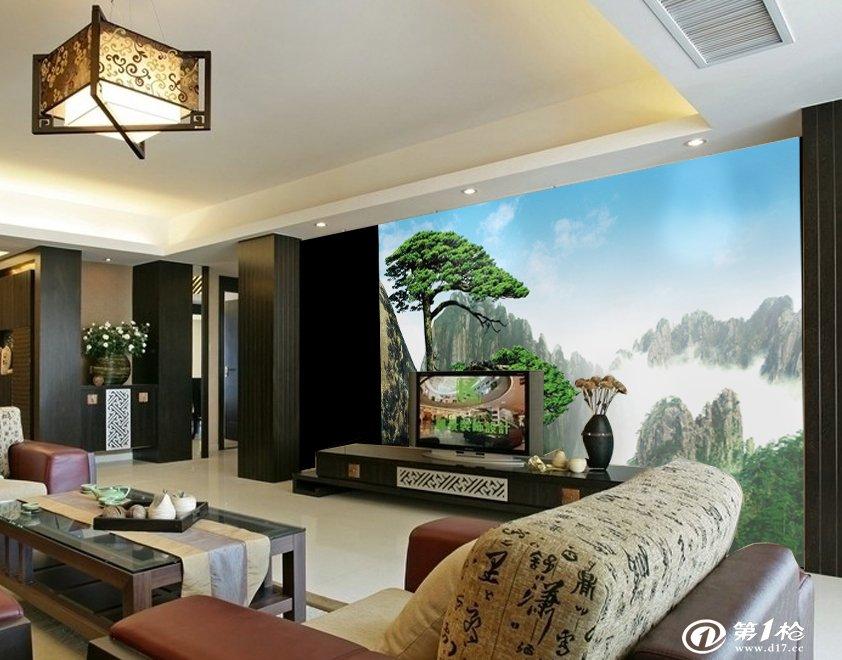 软包装无框壁画客厅卧室沙发电视背景墙壁纸个性自粘