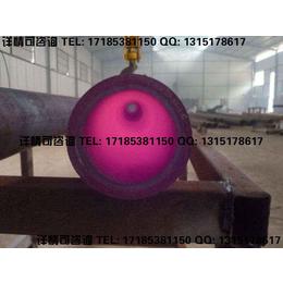 冶金行业磨削性大的物料输送用陶瓷复合管