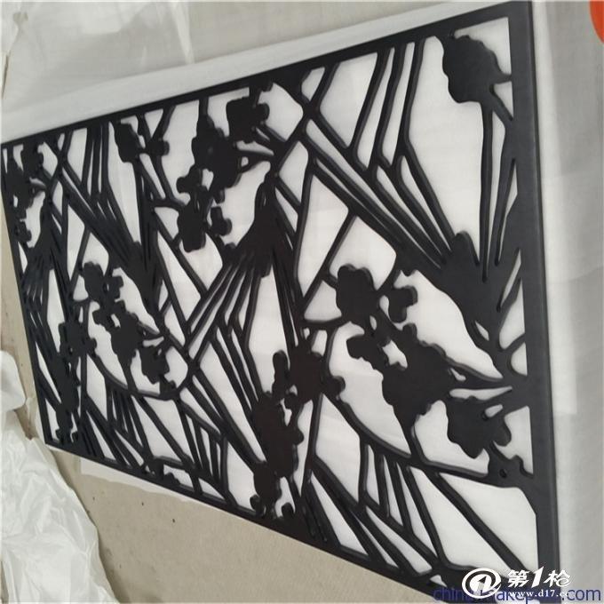 线割加工欧式不锈钢室内装饰隔断屏风 激光切割不锈钢花格艺术屏风