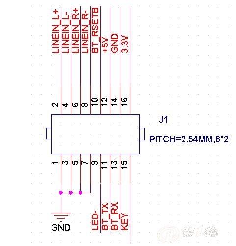 蓝牙模块一对立体声音频乐发射 接收传输解决 音乐无线传输 csr