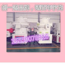 生物质颗粒机热销 宇龙大型颗粒机设备XGJ560秸秆压块机