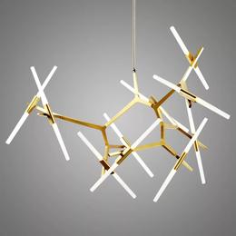 后现代简约树叉吊灯创意客厅餐厅别墅吊灯人字树杈灯具