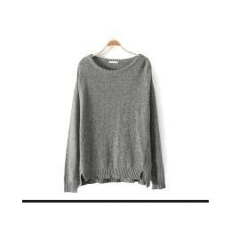 2013大码女装胖mm秋装外贸原单欧美韩版日单毛衣针织衫羊毛衫