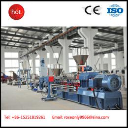 南京广塑GS-65 高产量双螺杆挤出机TPE弹性体造粒机